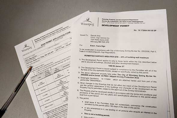 Sign Permit Applications