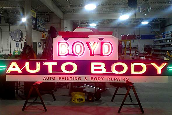 Sign Service and LED Retrofit